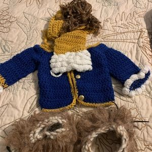 Infant Beast Crocheted Costume